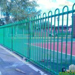 Сварной забор высотой 1,5 м. в Английском стиле