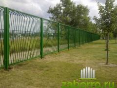 3. сварной забор из секций