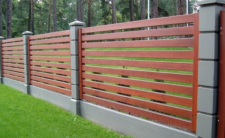 Деревянный забор своими руками новые фото