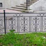 кованые газонные ограждения 1500х700
