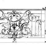 рисунок кованого ограждения