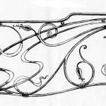 фотография рисунок кованого забора