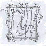 рисунок кованых изделий