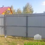 ворота и калитка из профнастила
