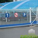 ворота откатные с электроприводом 1
