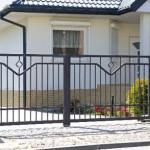 забор сварной и ворота