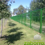 Сварной забор из объемных элементов