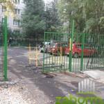 3 установка сварного забора и ворот