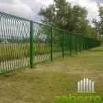 сварной забор из секций