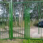 5-1. калитка в сварном заборе