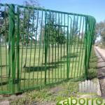 5. калитка в заборе