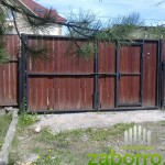 замена деревянного забора и ворот
