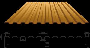 Профлист С21-1000
