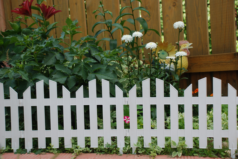 декоративный забор для клумбы