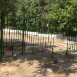 9 монтаж распашных ворот