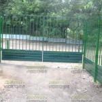 14 распашные ворота