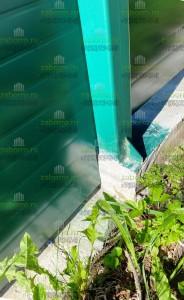 7-2 где надо, подрезали шумоотражающую панель под перепад ростверка