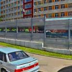 шумоотражающий забор 3м в Москве