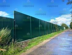 Забор от шума дороги